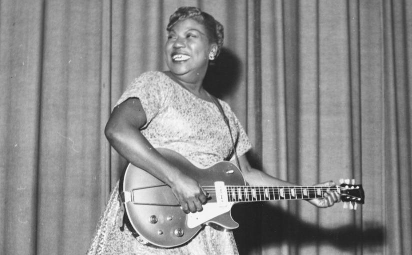 Ela criou o ROCK: Mulher, Negra e Cristã. Sister RosettaTharpe
