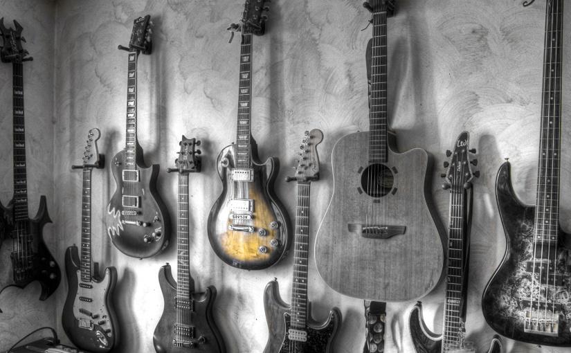 Não tente camuflar. Use a guitarracerta.